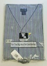 Diplomat Pajamas 5X Short Sleeve Knee Length Button Front Striped New