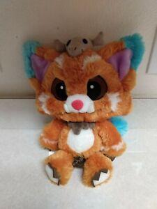 "Genuine Riot Games League Of Legends Gnar Plush 13"" Caveman Fox Stuffed Animal"