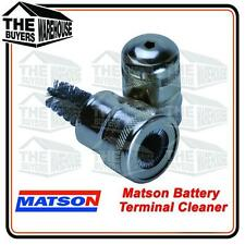 MATSON MA98125 BATTERY TERMINAL & POST CLEANER CORROSION REMOVAL WIRE BRUSH NEW