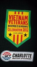 Mens Large Vietnam Veterans Nascar Charlotte Motor Speedway Homecoming T-Shirt