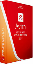 Avira Antivirus Internet Security Suite 2017 1 PC, 1 Year Activation Licence Key