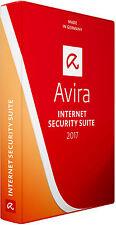 Avira Antivirus Internet Security Suite 2017 1 PC, 1 Year Sealed DVD Retail Box