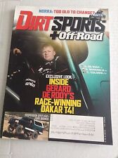 Dirt Sports Magazine Gerard De Rody Dakar T4 October 2014 032317NONRH