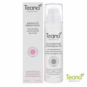 Teana Anti-Aging Rejuvenating Lifting Face Cream, Unique Peptide Complex 50ml