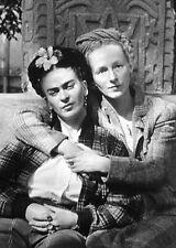 "Photographie, ""Frida Kahlo et Emmy Lou Packard"",  Coyoacan, 1941    /   13 x 18"