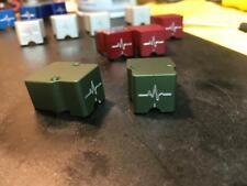 ParadoxPulse Guard phono cartridge body Satin GREEN, Denon DL103, DL103R, T-6