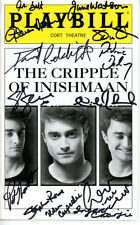 THE CRIPPLE OF INISHMAAN signed autographed CAST playbill DANIEL RADCLIFFE