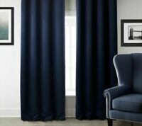 Panel Window Curtain Long Blackout Modern Design for Living Room Bedroom Office