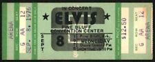 Elvis Presley-1976 RARE Unused Concert Ticket (Pine Bluff Convention Center)