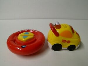 Vtech Go Go Smart Wheels RC SmartPoint Racer YELLOW Race Car RED Remote Control