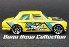 Hot Wheels Datsun Bluebird 510 Nightburnerz Yellow