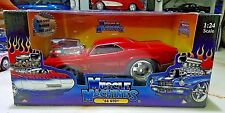 Muscle Machines 1966 PONTIAC GTO RED SUPERCHARGED 1:24 scale Diecast