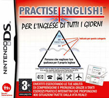 PRACTISE ENGLISH GAME GIOCO NINTENDO DS NUOVO SIGILLATO