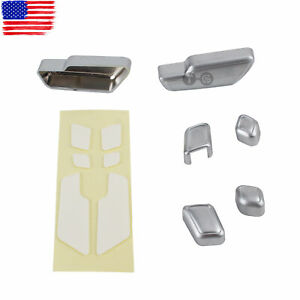 Chrome Door Seat Adjust Button Switch Cover Trim for Mercedes-Benz E Class W212
