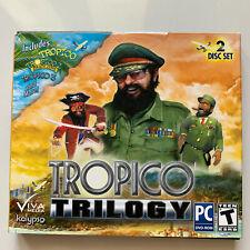 Tropico Trilogy (Tropico 1 + Tropico 2 + Tropico 3) - (PC)