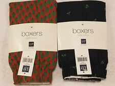 Gap Christmas Mens Boxers Underwear Medium 31-33 (Quantity 2) New with tags Nwt