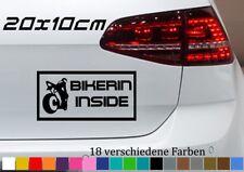 Bikerin Inside Aufkleber 20x10cm KTM Motorrad Super Cross Quad Sport Tuning Auto
