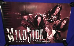 vintage 1992 Wildside Under the Influence PROMO POSTER UNUSED 20x30in