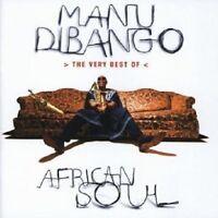 MANU DIBANGO - AFRICAN SOUL-THE VERY BEST OF  CD 15 TRACKS POP / WORLDMUSIC NEU