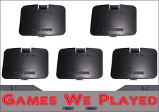 5 x Expansion Pak Pack Cover Lid Nintendo 64 N64 Charcoal Grey *Brand New*