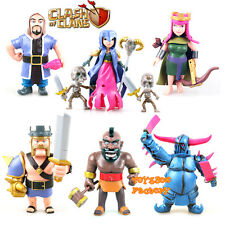 8pcs Clash of Clans COC Witches King Pekka Archer Queen Figure Kid Toy Doll Gift