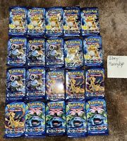 Pokemon TCG XY Evolutions Sealed Booster Packs - Lot Bundle Of 20 Packs