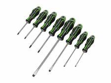 Sealey Premier 8 Piece GripMAX® Screwdriver Set SL, PH, PZ Hi-Vis Green AK4322HV