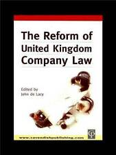 Reform of UK Company Law by