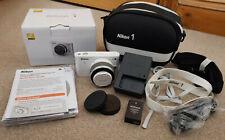 Nikon 1 J1 Digital Camera + 1 NIKKOR 10-30mm f/3.5-5.6 VR kit lens + carry case