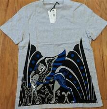 018fc0a6d Mens Authentic Versace Collection Graphic Print T-shirt Light Gray Large