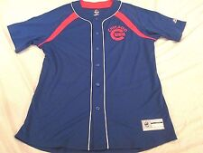 NEW MAJESTIC MLB CHICAGO CUBS KRIS BRYANT BRICKS AND IVY COOL BASE JERSEY SIZE L