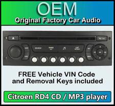 Autorradios C4 de 4 canales para Citroën