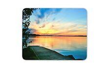 Magnifique Lac coucher de soleil Tapis de Souris Tapis Cadeau Ordinateur Summer #12190