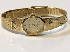 Vintage Elgin Quartz    Elegant Gold Plated Ladies Wrist Watch(EL-021Q)