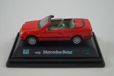 Hongwell Modellauto 1:72 H0 Mercedes-Benz Cabriolet