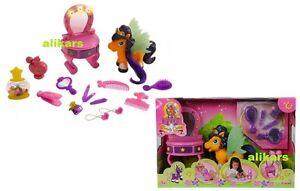 FILLY Beauty Queen Dream Studio Salon Pony Haarsalon mit Licht New Simba toys