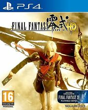 FINAL FANTASY TYPE 0 PS4 Sony PlayStation 4 Role Playing UK Release New Sealed