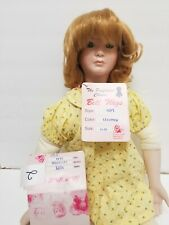 """Bell Doll Wigs #2  Hope lt copper 13-14"""" new in box"""