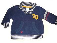 C & A toller Fleece Pullover Gr. 68 dunkelblau !!