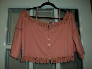 Topshop petite top size 10 new with tags