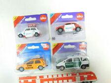 BH717-1#4x Siku Super Serie Modelli 1327+1078+1365+1367 VW,Ford,Mini Nuovo + Ovp