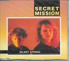 SECRET MISSION - Silent spring CD SINGLE 3TR Pop Rock 1991 (NEW SEALED!!)