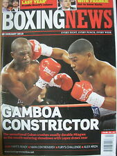 BOXING NEWS 29 JANUARY 2010 YURIORKIS GAMBOA DEFEATS ROGERS MTAGWA