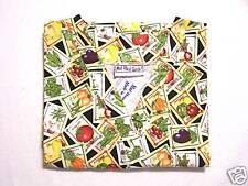 Seeds Scrub Top - S 100% Cotton Multi-Color Food Unisex MAS