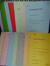 Piobaireachd Society music books for highland bagpipes choice of volumes 1 to 16