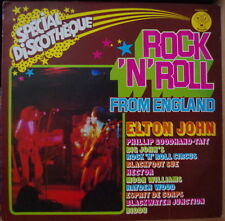 ROCK'N'ROLL FROM ENGLAND RARE COMPIL' 70's GLAM PROG PSYCH FRENCH LP