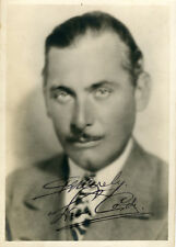 ANTIQUE VINTAGE AUTOGRAPH LEW CODY SILENT FILM ACTOR HOLLYWOOD SIGNED PHOTO