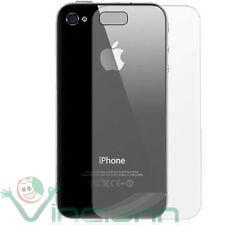 Pellicola protettiva posteriore trasparente triplo strato per Apple iPhone 4 4S