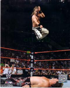 SHAWN MICHAELS WWE WWF HALL OF FAME 2011 HOF PRO WRESTLER 8x10 HOLOGRAM PHOTOS