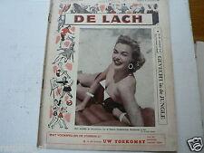 DE LACH 1955 NR 42,JILL ADAMS,LEITH,EGAN,POWELL,MILES,SCALA,AUBREY,MAUREY,CRAIN,